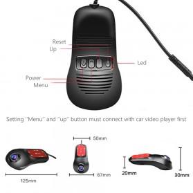 Car Dash Camera WiFi DVR Mobil Night Vision 1080P - RS200 - Black - 4
