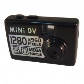 Taff 5MP HD Smallest Mini DV Digital Camera Video Recorder Camcorder Webcam DVR - Black