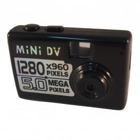 Taff 5MP HD Smallest Mini DV Digital Camera Video Recorder Camcorder Webcam DVR - Black - 1