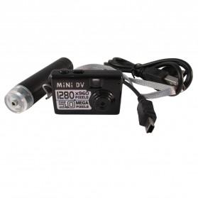 Taff 5MP HD Smallest Mini DV Digital Camera Video Recorder Camcorder Webcam DVR - Black - 7