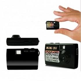 Taff 5MP HD Smallest Mini DV Digital Camera Video Recorder Camcorder Webcam DVR - Black - 9