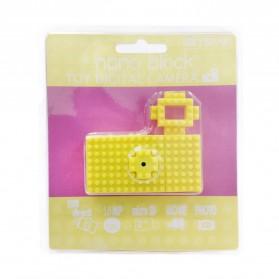 Nano Block USB Toy Digital Camera 5MP - Yellow