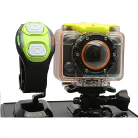 RF Wifi Full HD 1080P Waterproof Action Camera Sport DVR - F20A - Black