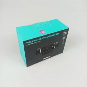 Logitech Webcam HD Stream 1080P with Microphone - C922 Pro - Black - 7