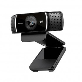 Logitech Webcam HD Stream 1080P with Microphone - C922 Pro - Black