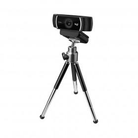 Logitech Webcam HD Stream 1080P with Microphone - C922 Pro - Black - 5