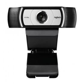 Logitech Business Webcam HD Stream 1080P with Microphone - C930e - Black