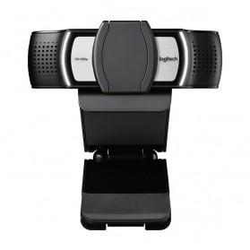 Logitech Business Webcam HD Stream 1080P with Microphone - C930e - Black - 2