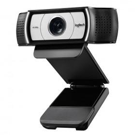 Logitech Business Webcam HD Stream 1080P with Microphone - C930e - Black - 3
