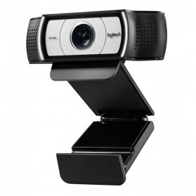 Logitech Business Webcam HD Stream 1080P with Microphone - C930e - Black - 4