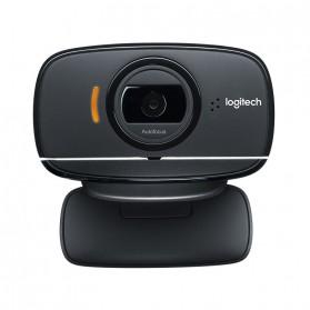 Logitech Foldable Business Webcam HD Stream 1080P with Microphone - B525 - Black - 2