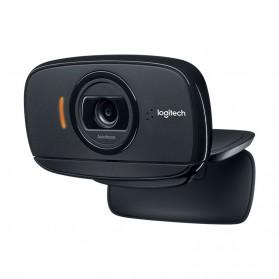 Logitech Foldable Business Webcam HD Stream 1080P with Microphone - B525 - Black - 3