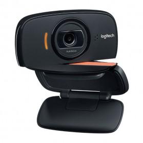 Logitech Foldable Business Webcam HD Stream 1080P with Microphone - B525 - Black - 4