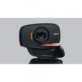 Logitech Foldable Business Webcam HD Stream 1080P with Microphone - B525 - Black - 8