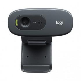 Logitech Mini Webcam HD 720P with Microphone - C270 - Black