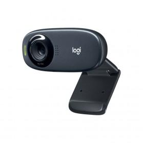 Logitech Mini Webcam HD 720P with Microphone - C310 - Black