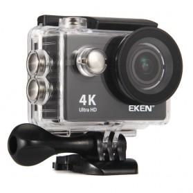 EKEN H9R Action Camera Waterproof 4K WiFi with Remote & Mount Set - Black