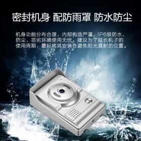 Kamera Pintu Intercom Doorbell LCD Monitor - SF518 - Silver - 7