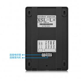 Kamera Pintu Intercom Doorbell LCD Monitor - SF518 - Black - 5