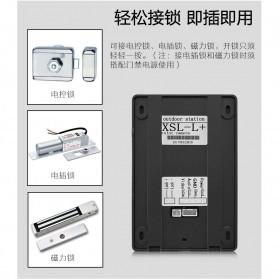 Kamera Pintu Intercom Doorbell LCD Monitor - SF518 - Black - 6