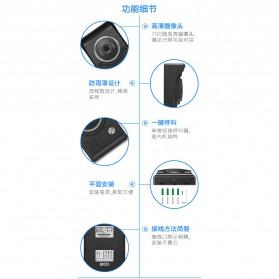 Kamera Pintu Intercom Doorbell LCD Monitor - SF518 - Black - 8