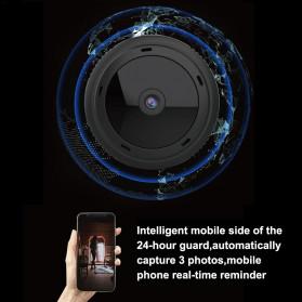 SHZONS Mini WiFi IP Camera TF Card Slot Night Vision Motion Detect 1080P - W-10 - Black - 5