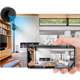SHZONS Mini WiFi IP Camera TF Card Slot Night Vision Motion Detect 1080P - W-10 - Black - 6