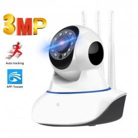 Wonsdar Wireless IP Camera CCTV 1080P Night Vision - WD-V03 - White