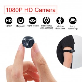 Sailvde Action Cam Kamera Mini Tersembunyi Serbaguna 1080P - MD21 - Black