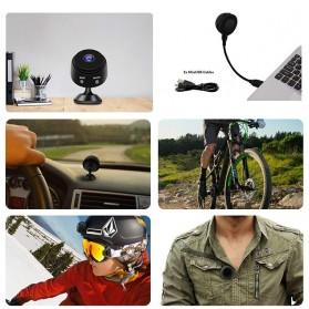 Baco Smart Mini IP Camera CCTV Spy Cam 1080P - A9 - Black - 2