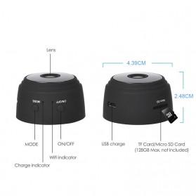 Baco Smart Mini IP Camera CCTV Spy Cam 1080P - A9 - Black - 4