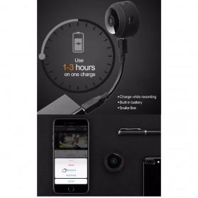 Baco Smart Mini IP Camera CCTV Spy Cam 1080P - A9 - Black - 7