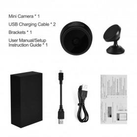 Baco Smart Mini IP Camera CCTV Spy Cam 1080P - A9 - Black - 8