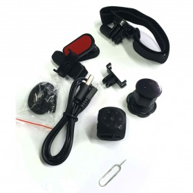Baco Kamera Mini DV Portable HD V20.3 Motion Detector - M21 - Black - 4