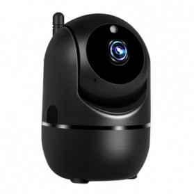 CCTV Meja - BACO Wireless IP Camera CCTV 2MP 1080P Night Vision - C281 - Black