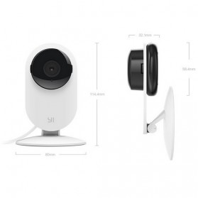 Xiaomi Xiaoyi Smart CCTV Home Camera with Nightvision (International Vers) - White - 2