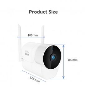 Xiaomi Xiaovv Kamera CCTV Wireless Outdoor Camera 1080P - XVV-1120S-B1 - White - 3