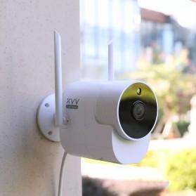 Xiaomi Xiaovv Kamera CCTV Wireless Outdoor Camera 1080P - XVV-1120S-B1 - White - 4