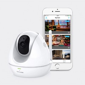 TP-Link Kamera CCTV WiFi Night Vision - NC450 - White - 4