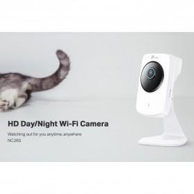 TP-LINK HD Day/Night Wi-Fi Camera - NC260 - White - 5