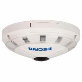 ESCAM UFO Panoramic Waterproof IP Camera CCTV Fish Eye 360 Degree 1/3 Inch 1.3MP 720P - QP130 - White - 3