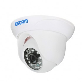 ESCAM Snail QD500 Waterproof Dome IP Camera CCTV 1/4 Inch 1MP CMOS 720P - White - 3