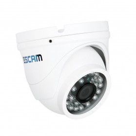 ESCAM Peashooter QD520 Waterproof Dome IP Camera CCTV 1/4 Inch 1MP CMOS 720P - White - 3