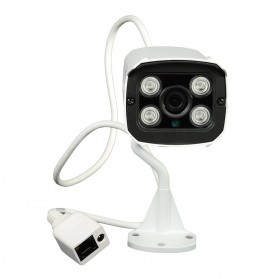 ESCAM Brick QD300 Waterproof Bullet IP Camera CCTV 1/4 Inch 1MP CMOS 720P - White - 2
