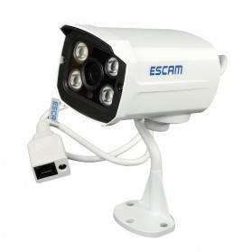 ESCAM Brick QD300 Waterproof Bullet IP Camera CCTV 1/4 Inch 1MP CMOS 720P - White - 3