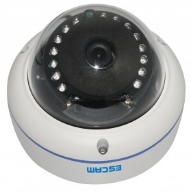 ESCAM Q645R Waterproof Dome IP Camera CCTV 1/4 Inch CMOS 720p - White - 3