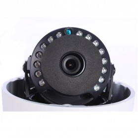 ESCAM Q645R Waterproof Dome IP Camera CCTV 1/4 Inch CMOS 720p - White - 5