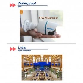 ESCAM Q630M Waterproof Bullet IP Camera CCTV 1/4 Inch CMOS 720P - White - 7