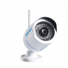 ESCAM Q6320WiFi Waterproof Bullet Wireless IP Camera CCTV 1/4 Inch CMOS 720P - White