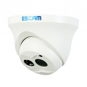 ESCAM Owl QD100 Bullet IP Camera CCTV 1/4 Inch 1MP CMOS 720P - White